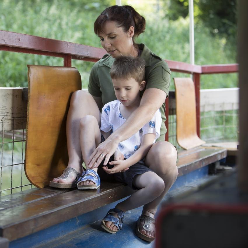 O detské nôžky sa starajme s láskou - od narodenia až po školský vek