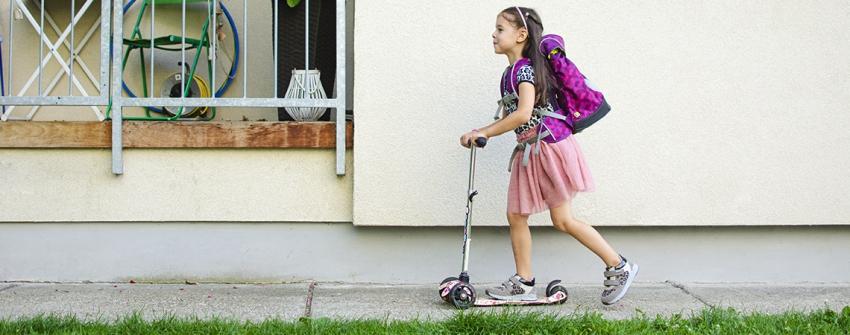 Raz - dva vybavení do školy