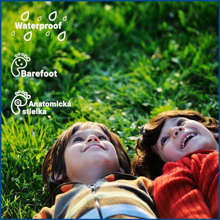 PROTETIKA Kids má topánočky so zdravotnými prvkami, ale aj Waterproof a Barefoot