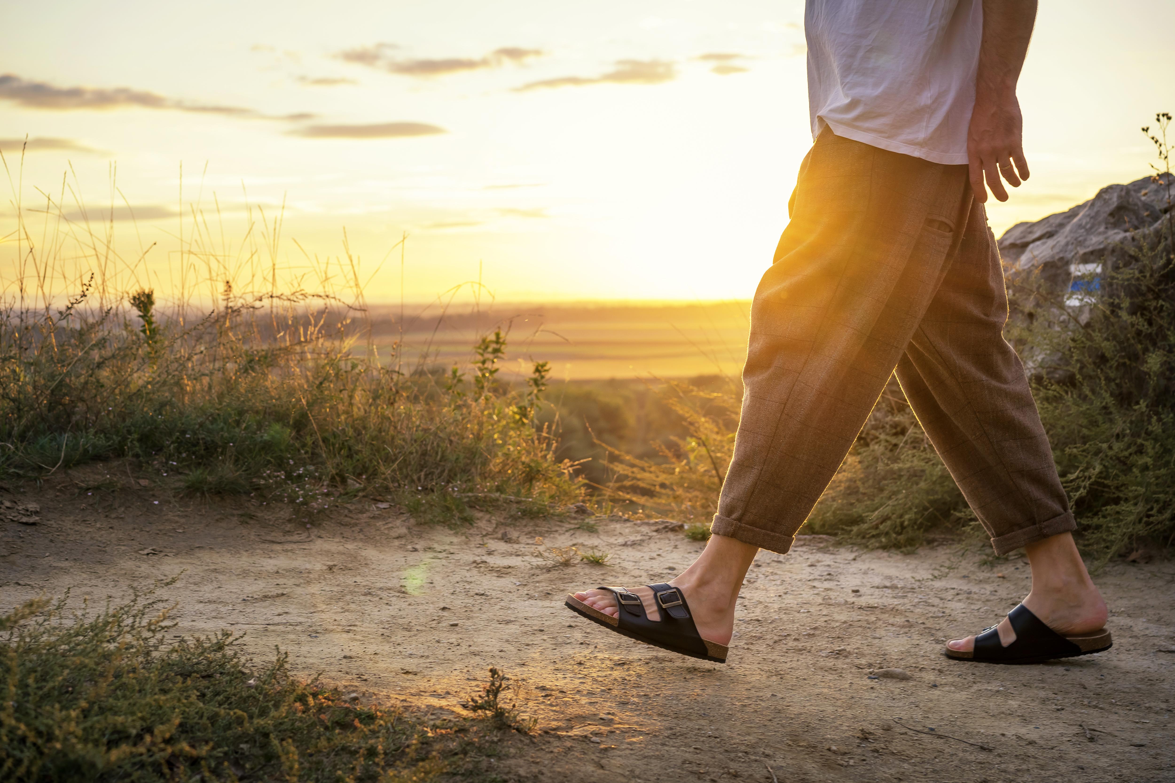 Pánske kožené sandále PROTETIKA Walker