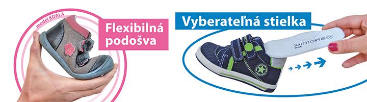 07b6a1b62a7f Značka PROTETIKA Kids prináša širokú ponuku detskej obuvi z čisto  prírodných materiálov a s prvkami